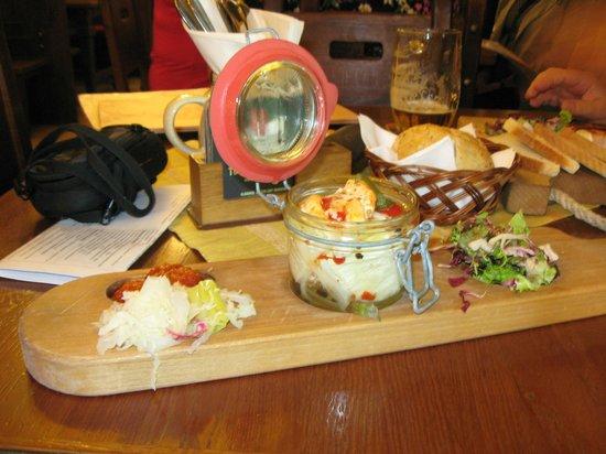 Plzensky restaurant Andel : Гермелин, вымоченный в маринаде
