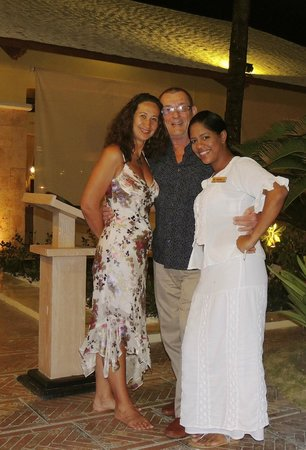 Excellence Punta Cana : Us with Roxanne