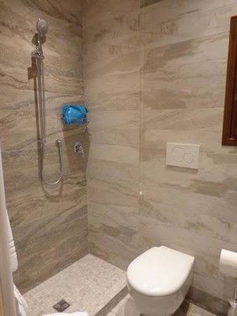 Hotel Villa Rosa: Baño Habitación 28