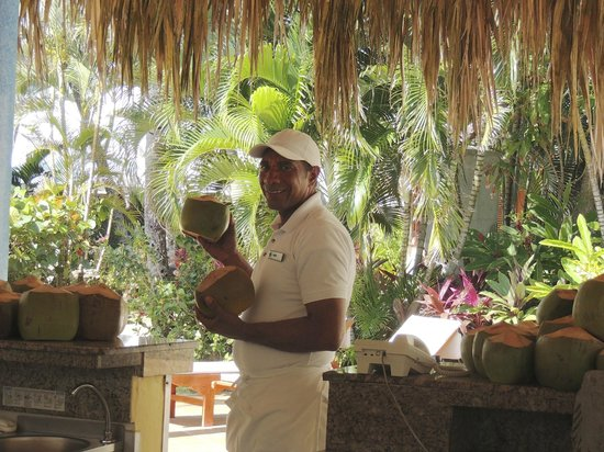 Excellence Punta Cana : Vidal, the Cascade pool barmen