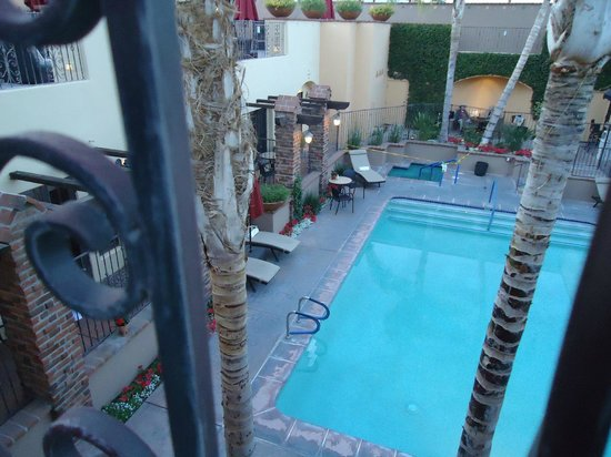 Andreas Hotel & Spa: Looking down from our room