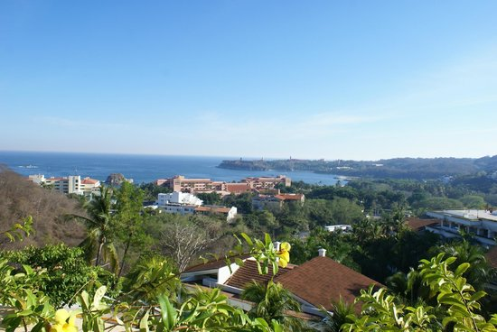 Park Royal Huatulco: View from 10th floor balcony