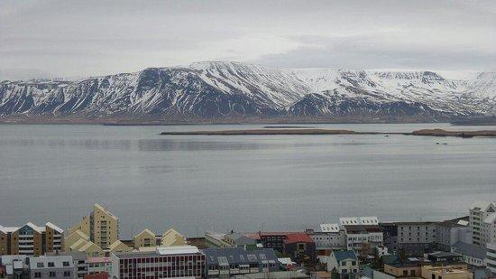 Centerhotel Arnarhvoll : Mountain view