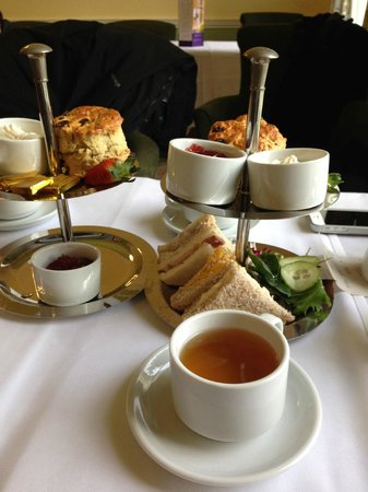 Willersley Castle Hotel: Tea time at Willersley Castle