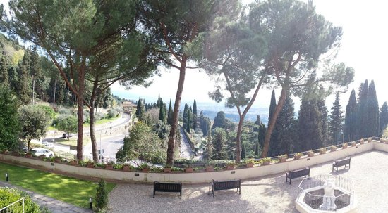 FH Villa Fiesole Hotel : Panoramic from the terrace