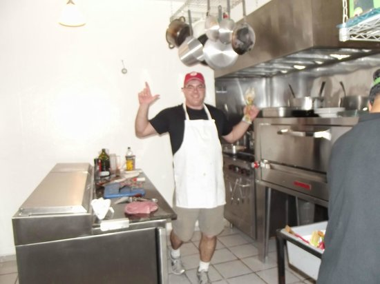 Don chendo and his spotless Kitchen