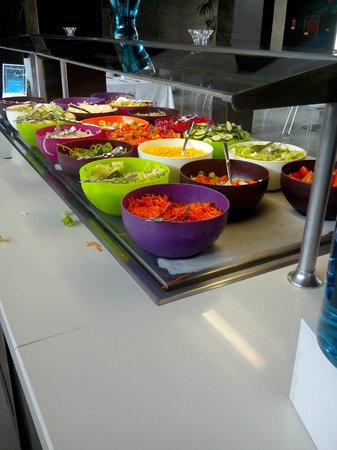 R2 Bahia Playa: buffet des hors d'oeuvres