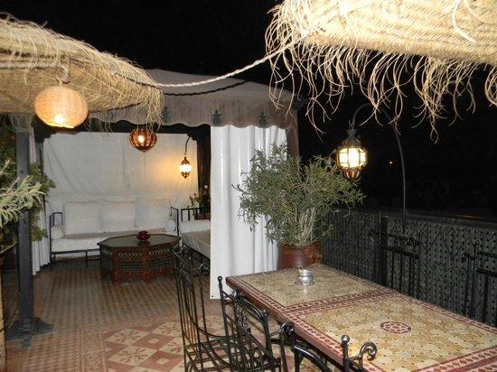 Riad Andalla : la terrasse