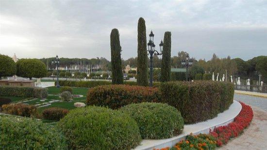 Mardan Palace : parkanlage