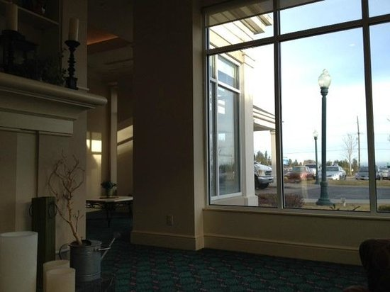 Hilton Garden Inn Spokane Airport: view out