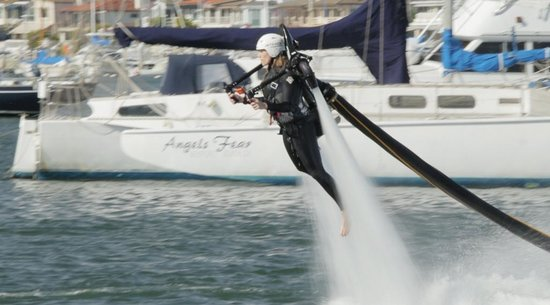 Flying with Jetpack America!