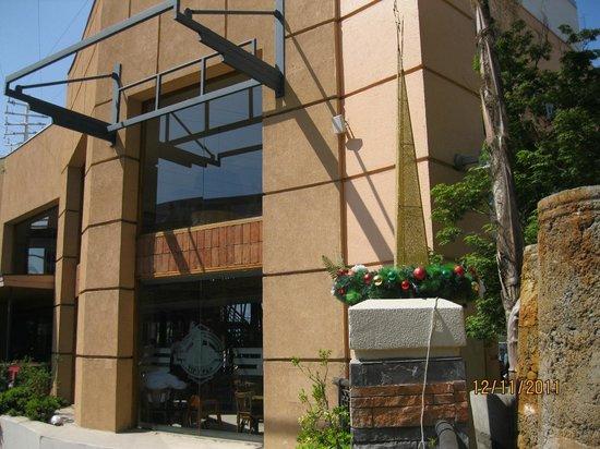 NH Collection Plaza Santiago : Fachada do Hotel