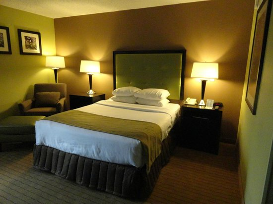Days Inn Baltimore Inner Harbor: Well appointed Delux Queen Bedroom