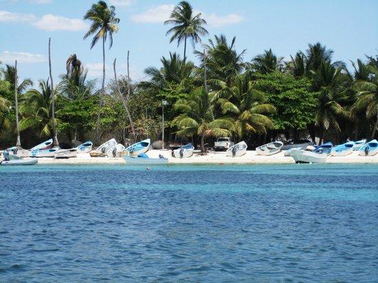 Dreams La Romana: View from the water