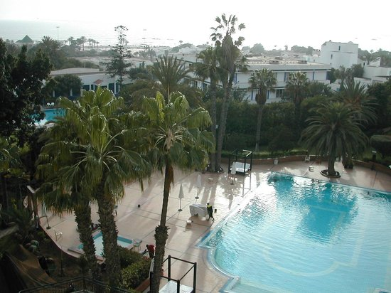 Hotel Argana : view from my room 4103