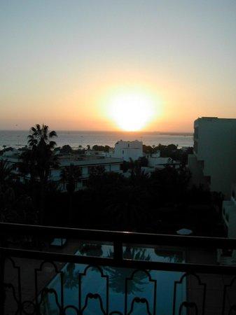 Hotel Argana : sunset from my room 4103
