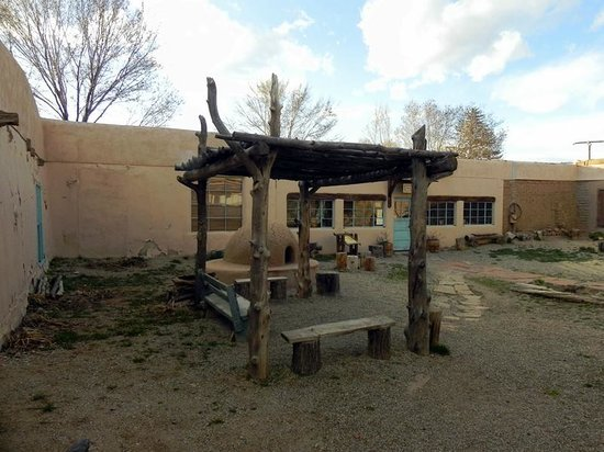 Kit Carson Home & Museum: Courtyard