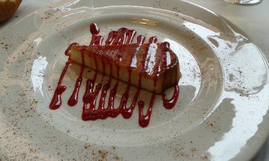 L'Onaindia Restaurant: Pastis de formatge