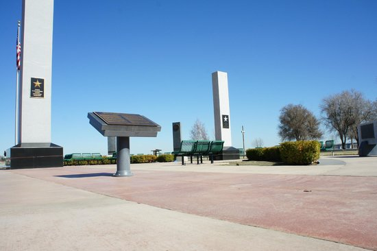 Regional Veterans Memorial : view of the Memorial