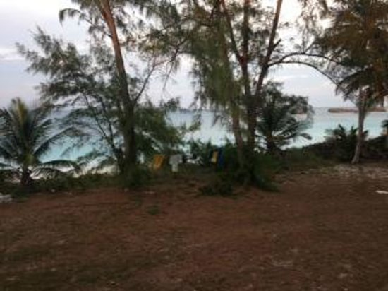 Exuma Palms Hotel: Beachfront clothesline