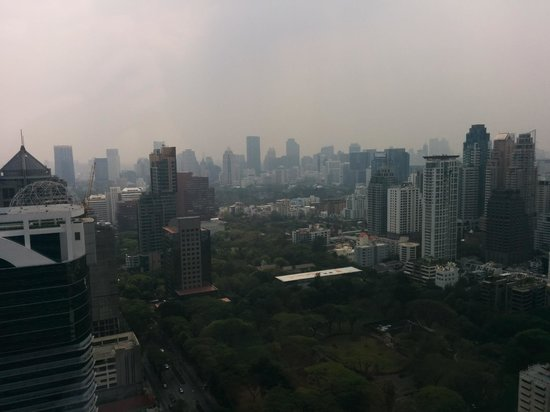The Okura Prestige Bangkok : View from the lounge club