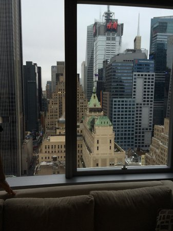 InterContinental New York Times Square: view from the lounge