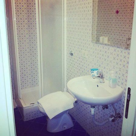 A Casa di Buba: bagno privato