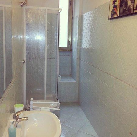 A Casa di Buba : bagno esterno