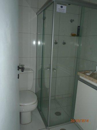 Littoral Tambau Flat: banheiro