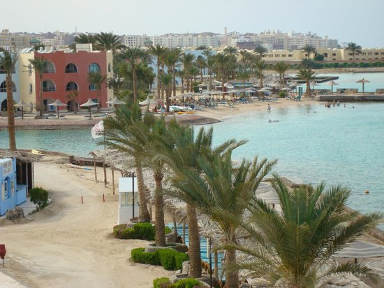 Arabia Azur Resort: widok na plażę