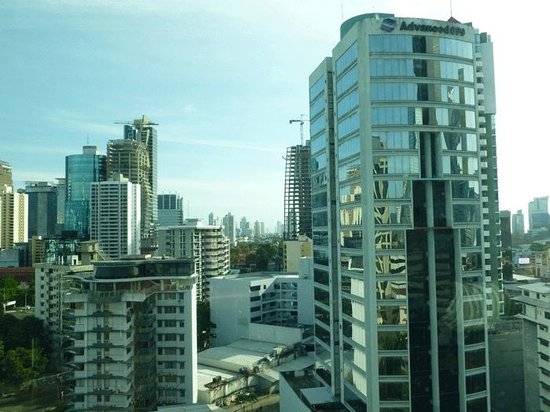 Panama Marriott Hotel: spectacular view from the concierge lounge
