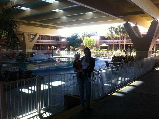 Champions World Resort: piscina