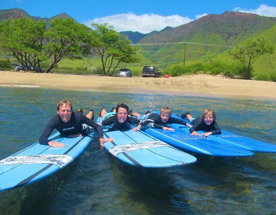 Soul Surfing Maui: Super Happy Family Memory