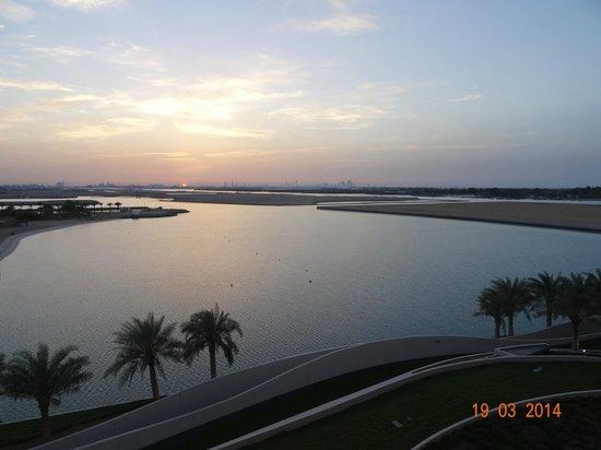 Al Raha Beach Hotel : Widok z pokju