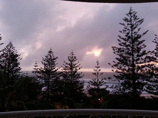 Burleigh Mediterranean Resort : Balcony view from 5th floor