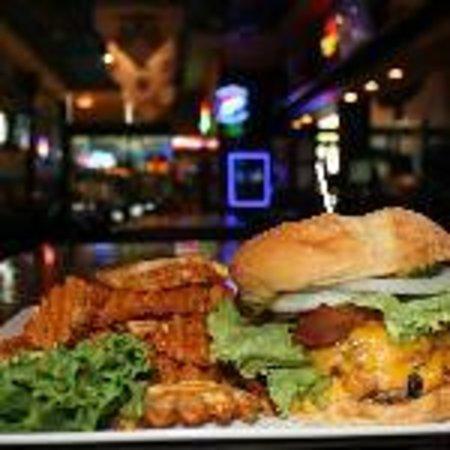 Hooligan's Sports Bar: Fresh Certified Angus Beef Burgers!!!