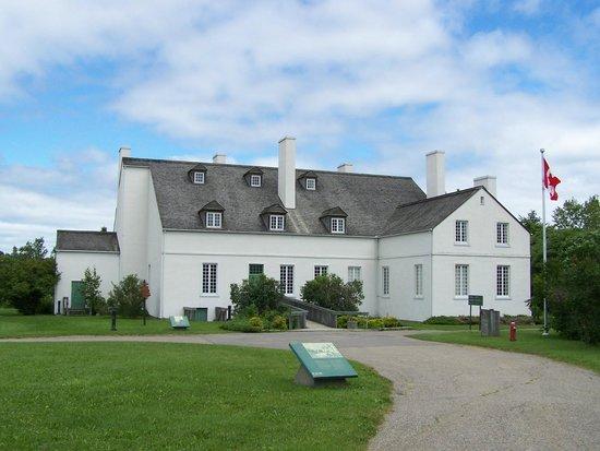 Forges du Saint-Maurice: La Grande Maison, centre d'accueil, Les Forges de Saint-Maurice