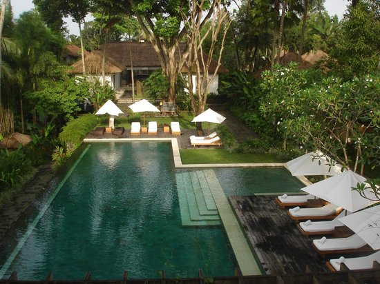 COMO Uma Ubud: A view of incredible Uma by Como Ubud's pool area in Bali