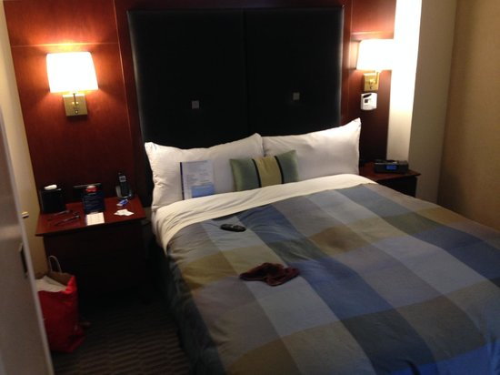 Club Quarters Hotel, Midtown: Bed