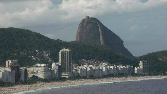 Copacabana Rio Hotel: Vista do deck da piscina ... simplesmente MARAVILHOSO