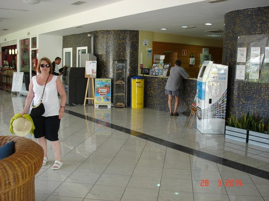 Hotel Servatur Terrazamar Suite & Sun Suite: Reception Area
