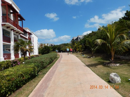 Memories Paraiso Beach Resort : Super vue....