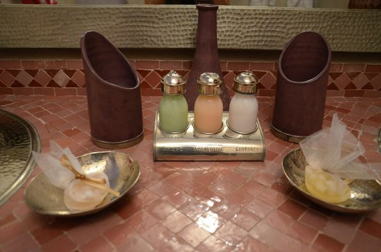 Riad Turquoise: Gel douche, shampoing, et lait corporel