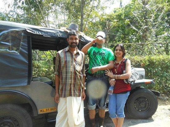 Periyar Tiger Reserve : Nice Gentlemen driver