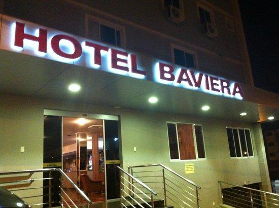 Hotel Baviera Iguassu: Fachada do hotel.