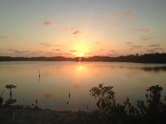 Pelican Reef Villas Resort: Nearby lagoon had beautiful sunsets