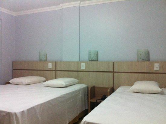 Hotel Baviera Iguassu: Quarto.
