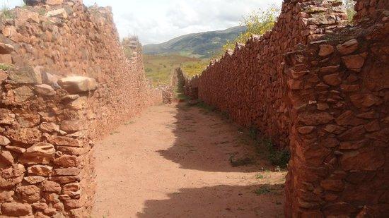 Via, rampa o calle de Piquillacta