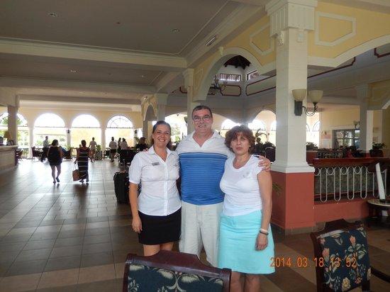 Memories Paraiso Beach Resort : Lisbet ,merci beaucoup pour tout