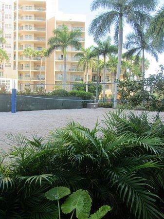 Wyndham Palm-Aire: Sand Volleyball court